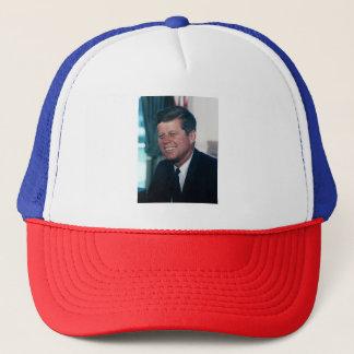 Boné Chapéu vermelho, branco, e azul de John F. Kennedy