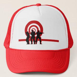 Boné Chapéu vermelho das forças armadas do alvo