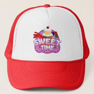 Boné Chapéu vermelho do camionista do tempo doce