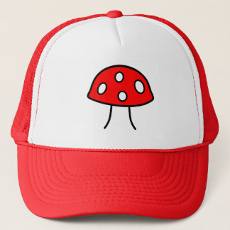 Boné Chapéu vermelho do cogumelo