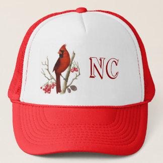 Boné Chapéu vermelho do pássaro do estado do NC