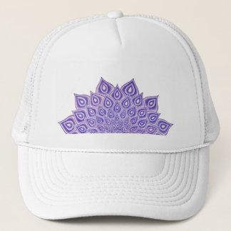 Boné Chapéu violeta do camionista da mandala de Chakra