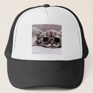 Boné Chapéu vivo do camionista do gato o mais fresco