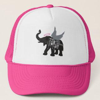 Boné Chapéu voado do camionista do elefante