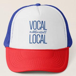 Boné Chapéu vocal & local do camionista