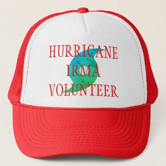 Boné Chapéu VOLUNTÁRIO do desastre de IRMA Florida do