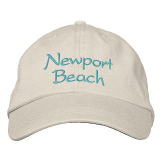 Boné Chapéus bordados de Califórnia. Praia de Newport
