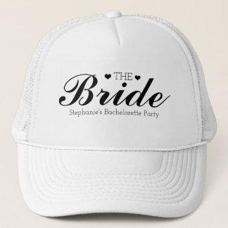 Boné Chapéus customizáveis do camionista da noiva da