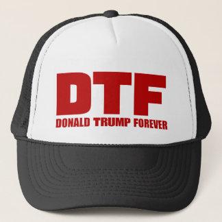 Boné Chapéus de DTF Donald Trump para sempre