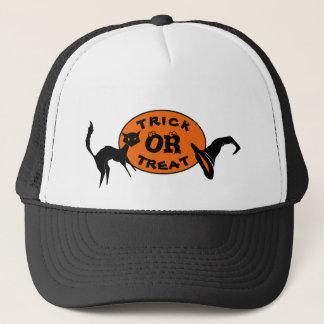 Boné Chapéus do camionista do Dia das Bruxas do chapéu