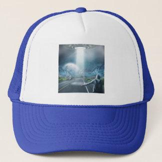 Boné Chapéus do camionista do Hitchhiker do UFO