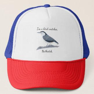 Boné Chapéus do costume do pica-pau-cinzento do