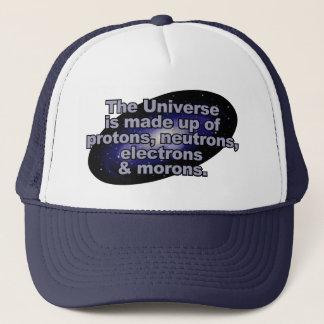 """Boné """"Chapéus engraçados do universo"""""""