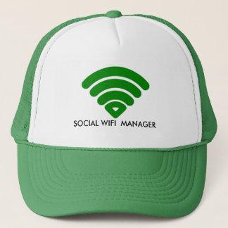 Boné Chapéus feitos sob encomenda do GERENTE SOCIAL de