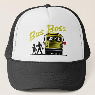 Boné Chefe do ônibus - motorista masculino