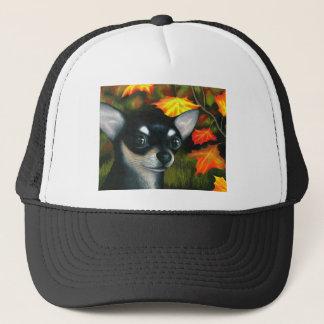 Boné Chihuahua preta do cão 101