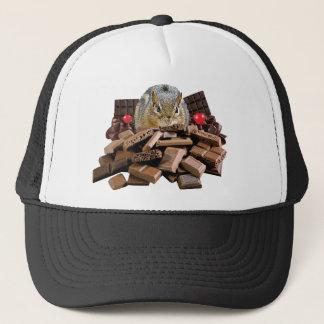 Boné Chipmunk do chocolate do dia dos namorados