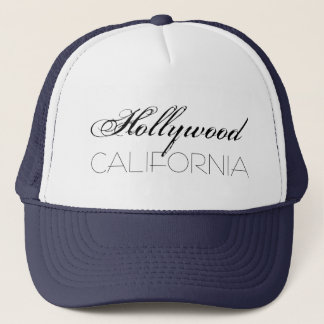 Boné Chique de Hollywood Califórnia customizável
