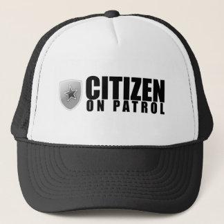 Boné Cidadão na patrulha