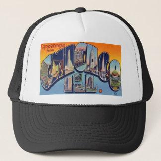 Boné Cidade de Chicago do vintage