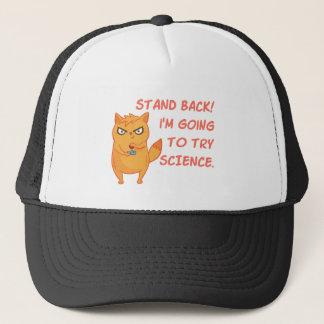 Boné Ciência engraçada do robô do cientista da
