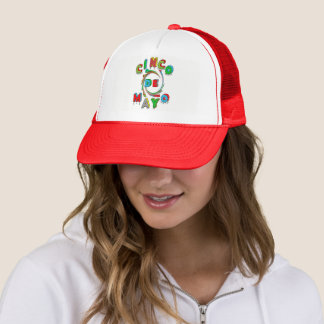 Boné Cinco de Mayo - o chapéu do camionista - homens ou