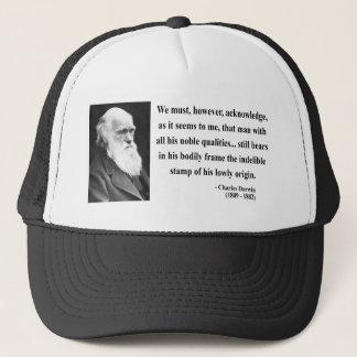 Boné Citações 1b de Charles Darwin