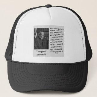 Boné Citações de Thurgood Marshall