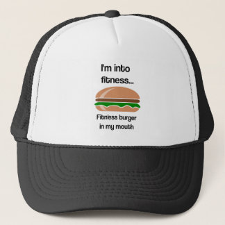 Boné Citações engraçadas do hamburguer da malhação