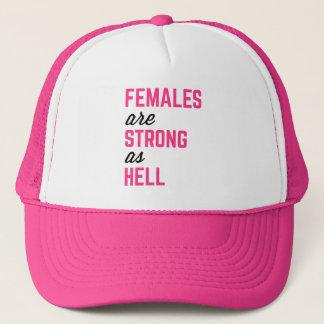 Boné Citações fortes do Gym do inferno das fêmeas