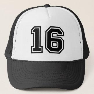 Boné Clássico do número 16