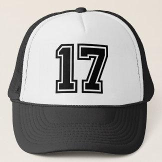 Boné Clássico do número 17
