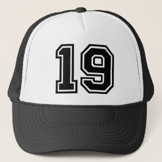 Boné Clássico do número 19