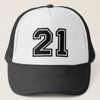 Boné Clássico do número 21