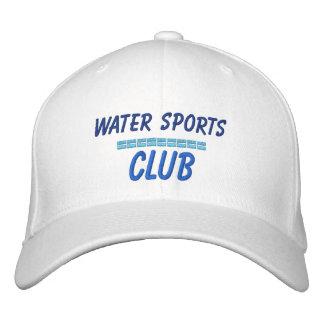 Boné Clube desportivo bordado da água do chapéu