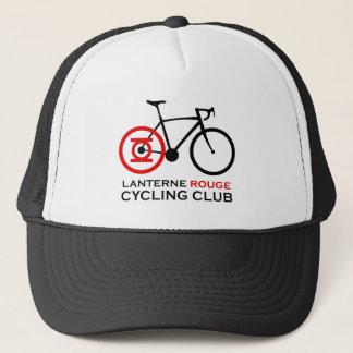 Boné Clube do ciclismo do vermelho de Lanterne