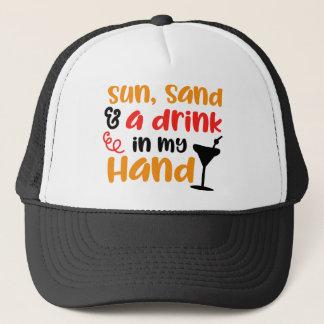 Boné Cocktail à disposição