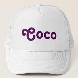 Boné Cocos do chapéu