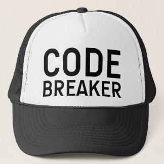 Boné CODIFIQUE o chapéu do slogan do DISJUNTOR