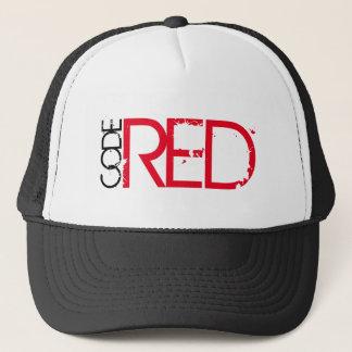 Boné Codifique o chapéu vermelho do camionista