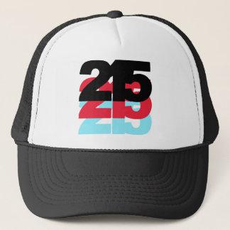 Boné Código de área 215