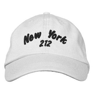 Boné Código de área de New York 212