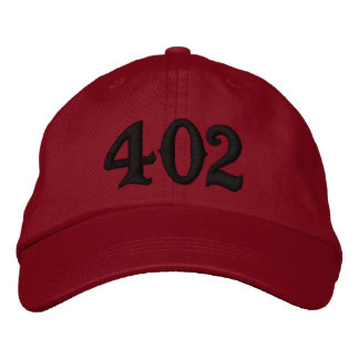 Boné Código de área do código de área 402 (ou use seu