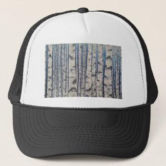 Boné Código Morse das árvores de vidoeiro