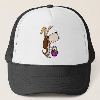 Boné Coelhinho da Páscoa engraçado do cão de Basset