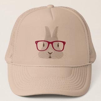 Boné Coelhinho da Páscoa engraçado do hipster com