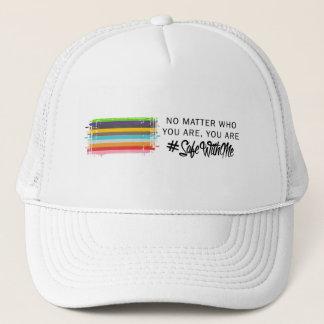 Boné Cofre forte comigo chapéu do camionista da