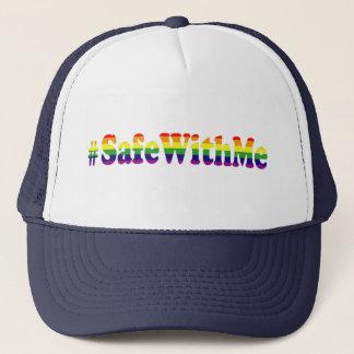 Boné Cofre forte do #Safewithme comigo indicação do Tag