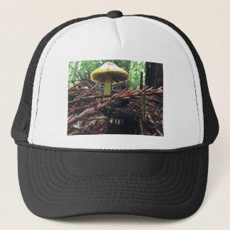 Boné Cogumelo amarelo do chapéu