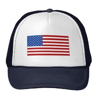 Boné com a imagem da bandeira americana